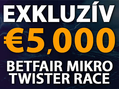 €5,000 Exkluzív Betfair Mikro Twister Race