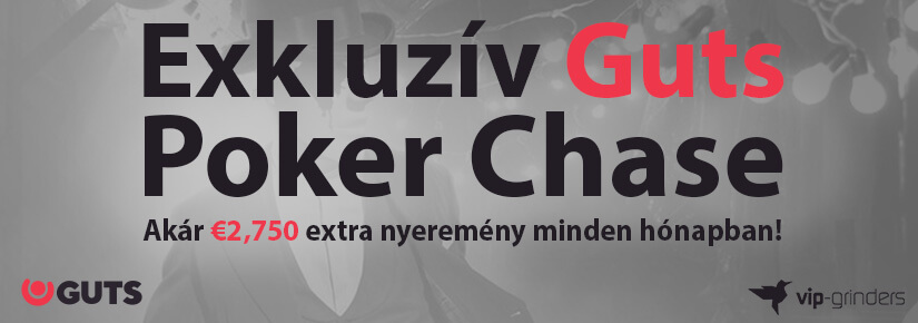 Exkluzív Guts Poker Chase – december