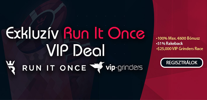 Run It Once VIP Deal