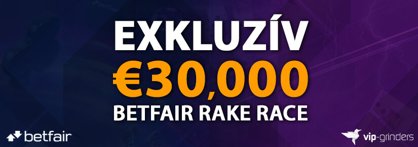 €30,000 Exkluzív Betfair Race-ek